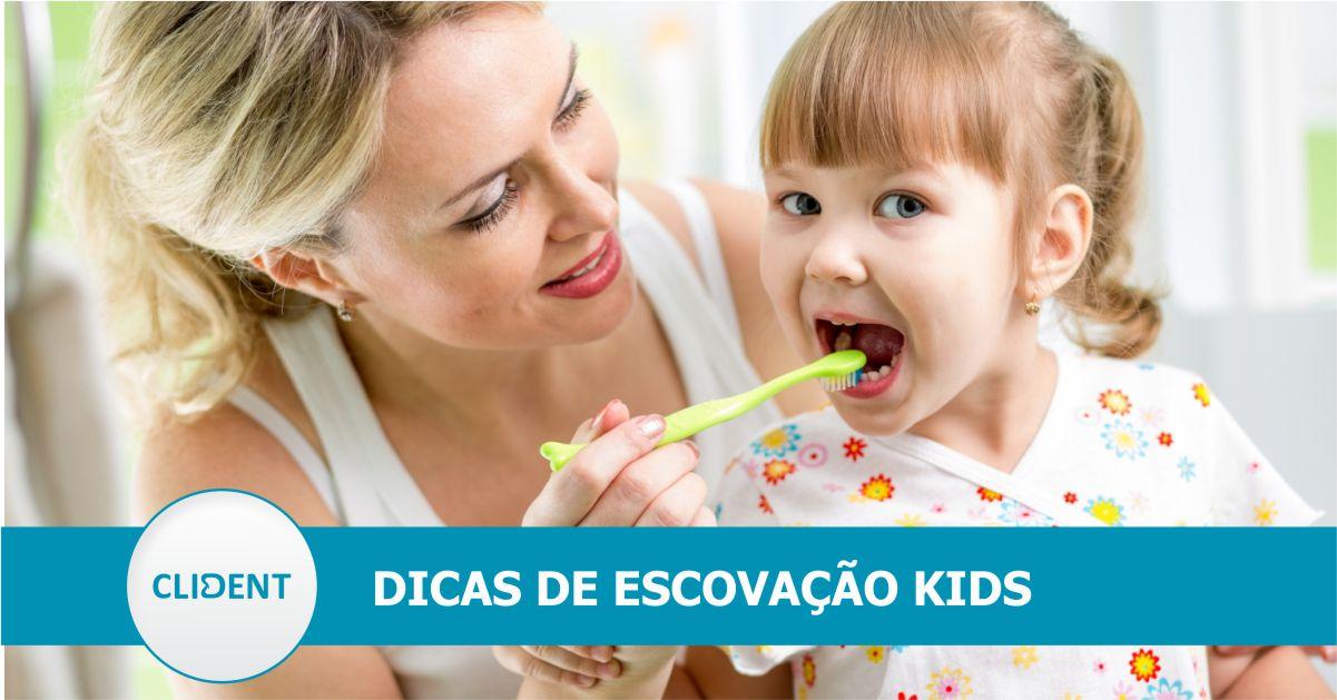 Conselhos para uma boa higiene dental infantil