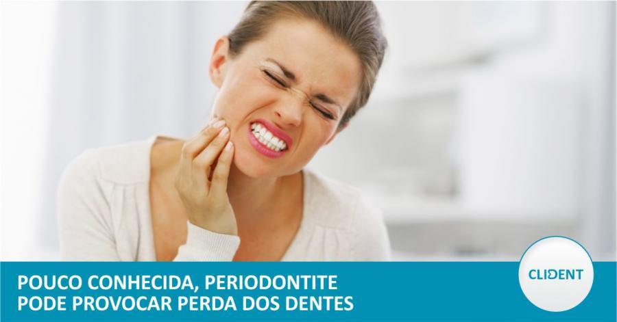 Pouco conhecida, periodontite pode provocar perda dos dentes
