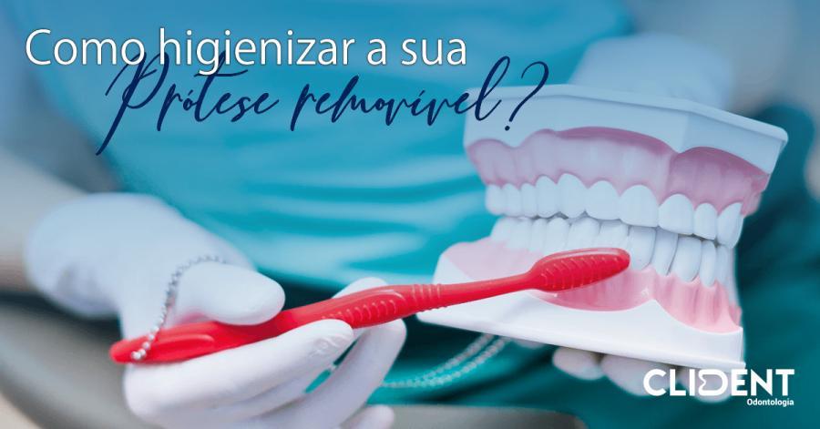 A rotina de como cuidar da sua prótese dentária adequadamente