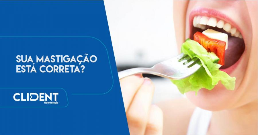 Mastigação correta beneficia a saúde dos dentes e o sistema digestivo