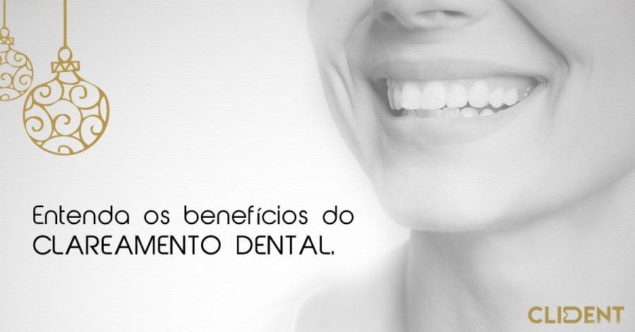 Entenda os benefícios do Clareamento Dental.