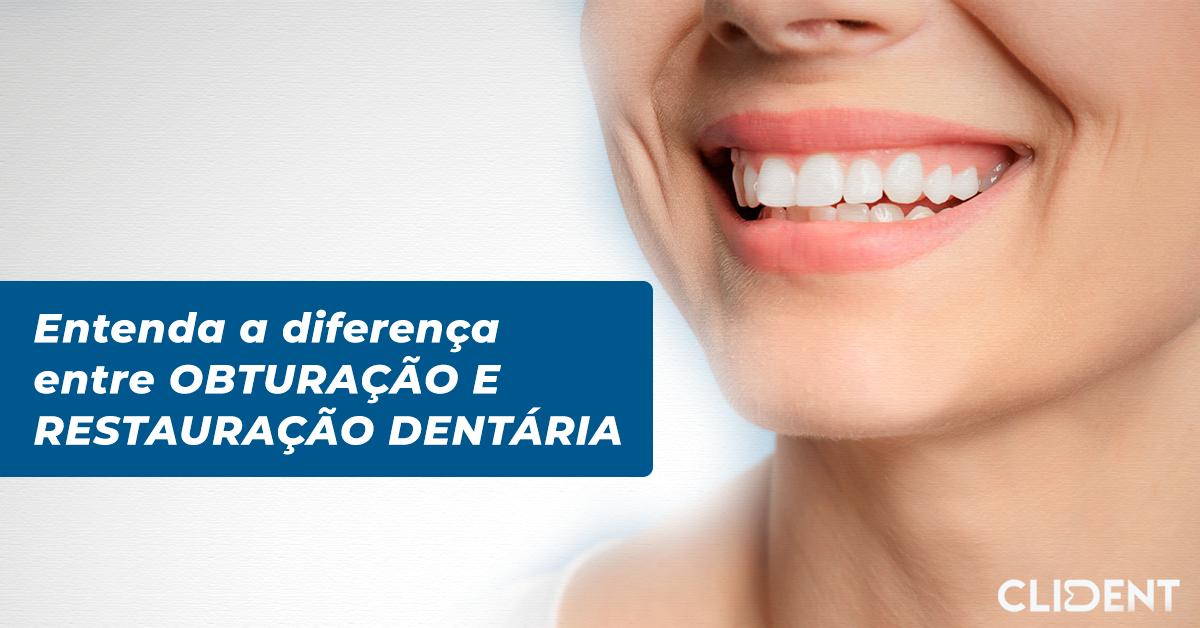 Entenda a diferença entre obturação e restauração dentária